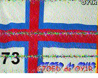 Digital SSTV from G0HWC