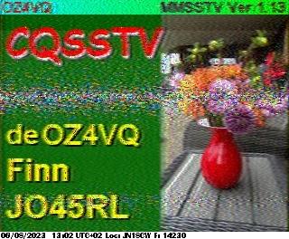 6th previous previous RX de F4HKJ