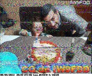 8th previous previous RX de F4HKJ