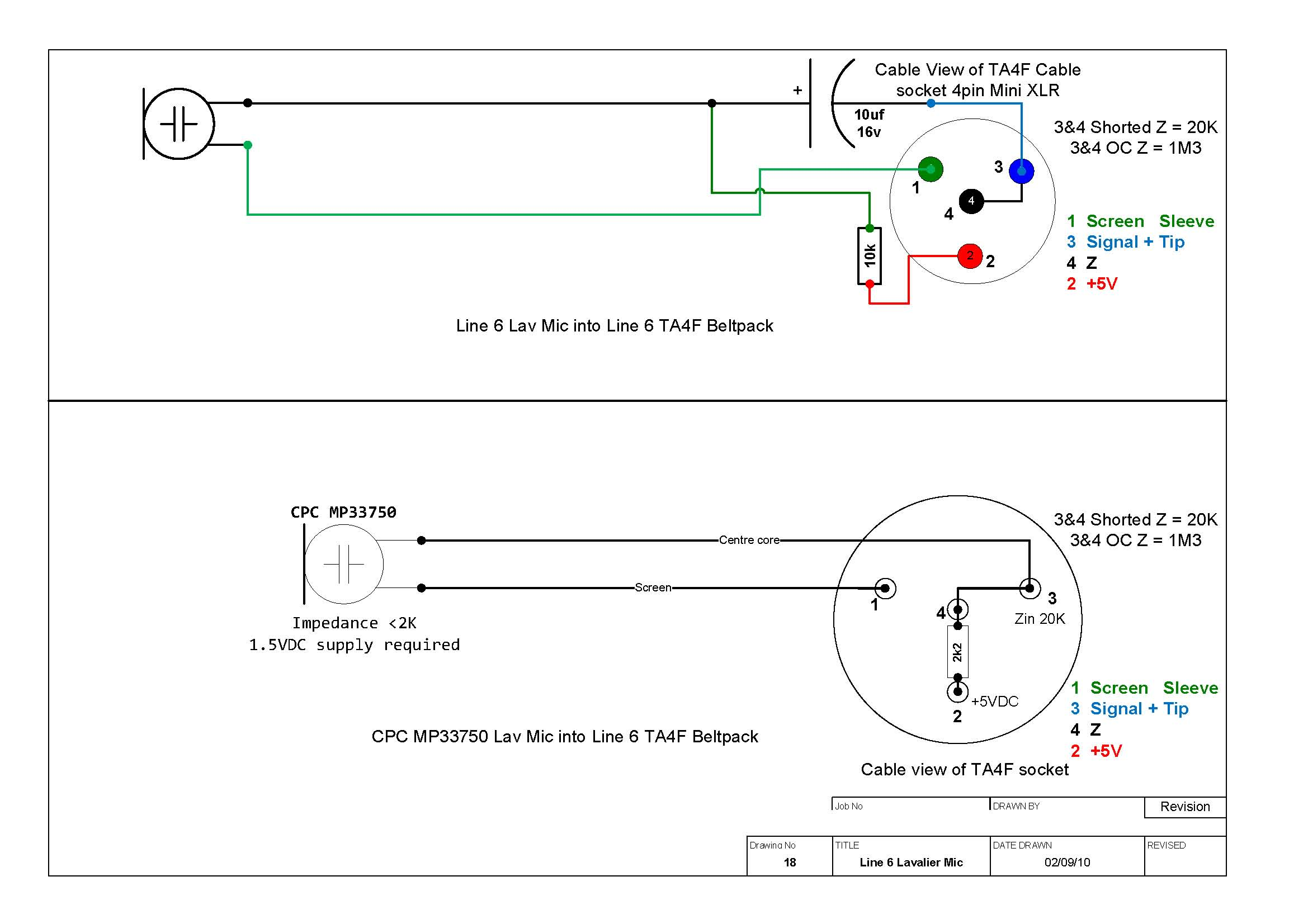 Shure Xlr 4 Pin Connector Wiring Diagram | Wiring Diagram on
