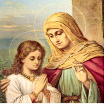 St Anne Mother Of The Blessed Virgin Mary