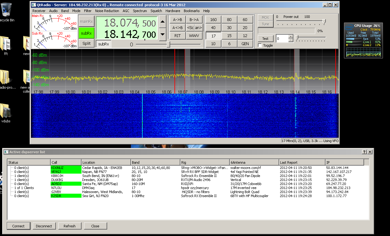 Software Defined Radio's by kJ6DZB