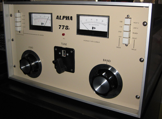 Alpha 77sx restoration second tube by dick byr n4uq -