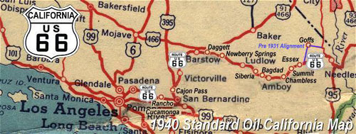 Map Of California Route 66.Route 66 Map