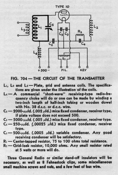 BUILDING A 1929 VINTAGE TNT TRANSMITTER