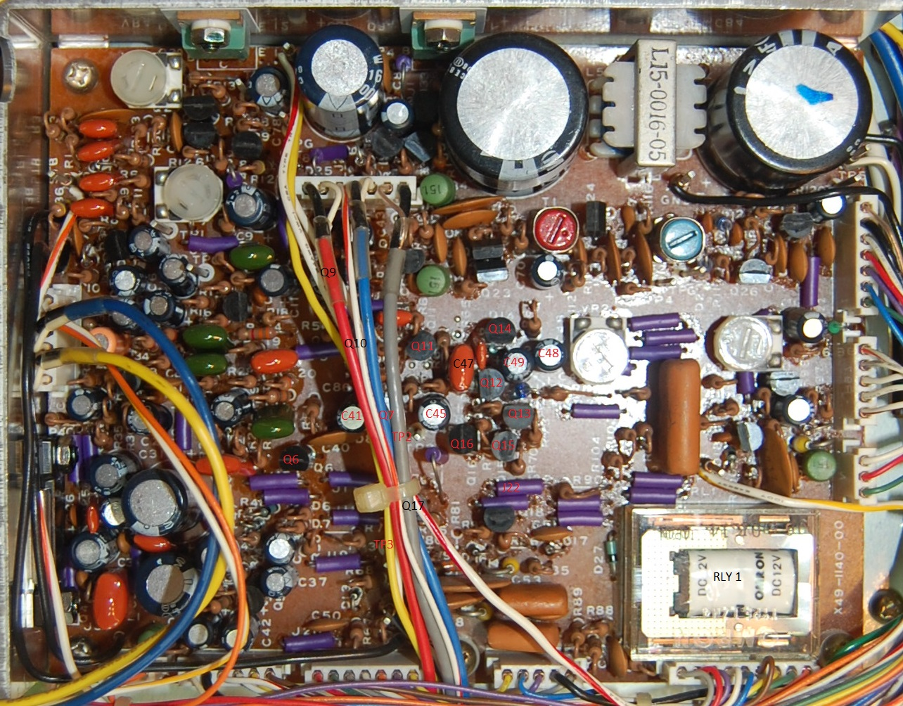 Kenwood Ts 830 Vox Basic Circuit Controls Ptt Early Audio Board