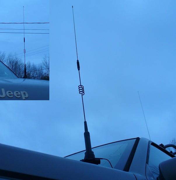 6m 2m 70cm Mobile antenna