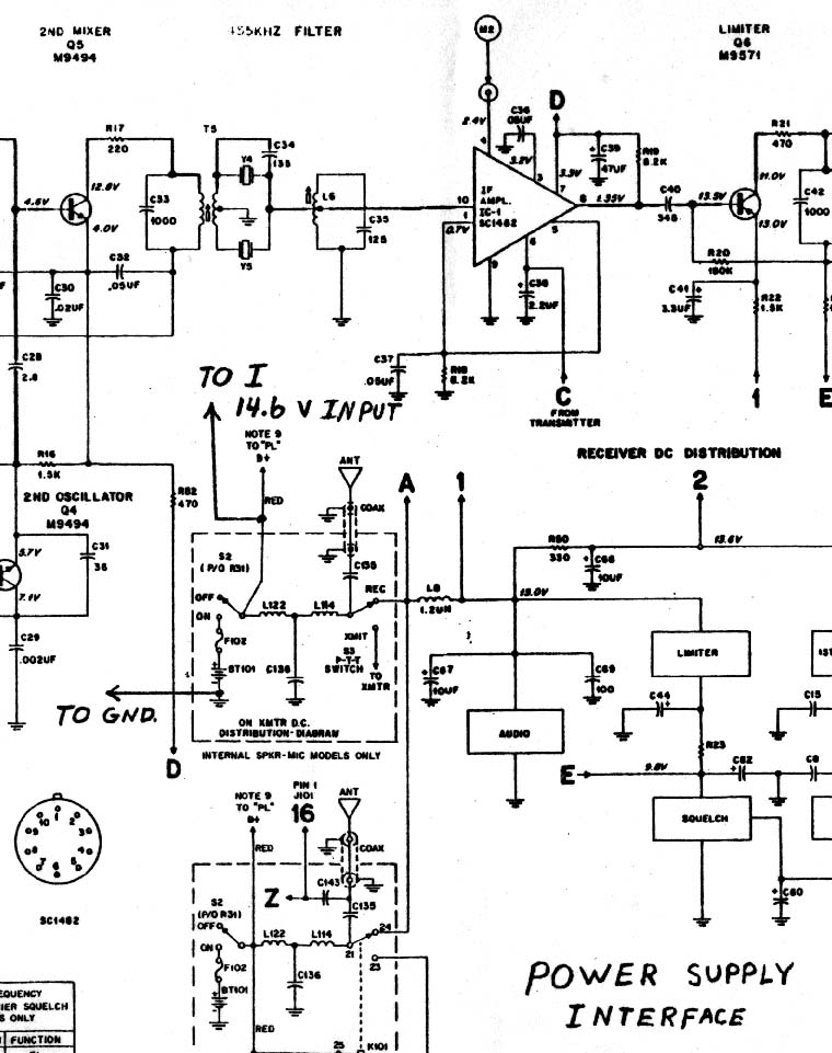 bcd rotary switch schematic